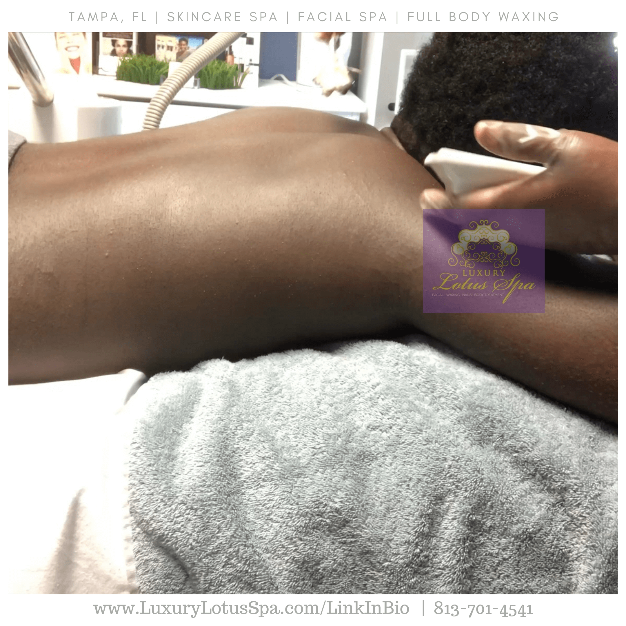FULL BODY WAXING TREATMENT tampa